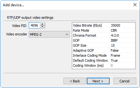 RTP_UDP_output_video_settings