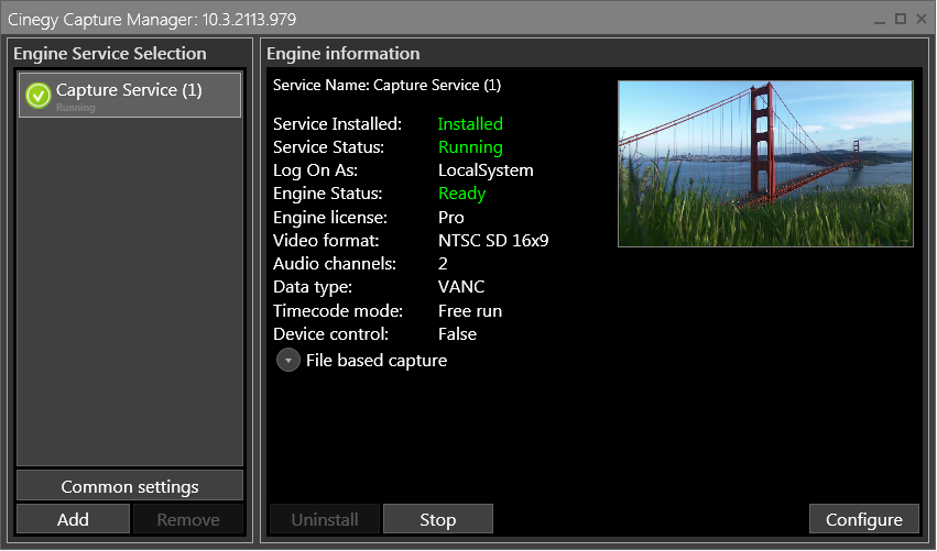 Cinegy_Capture_Manager_interface