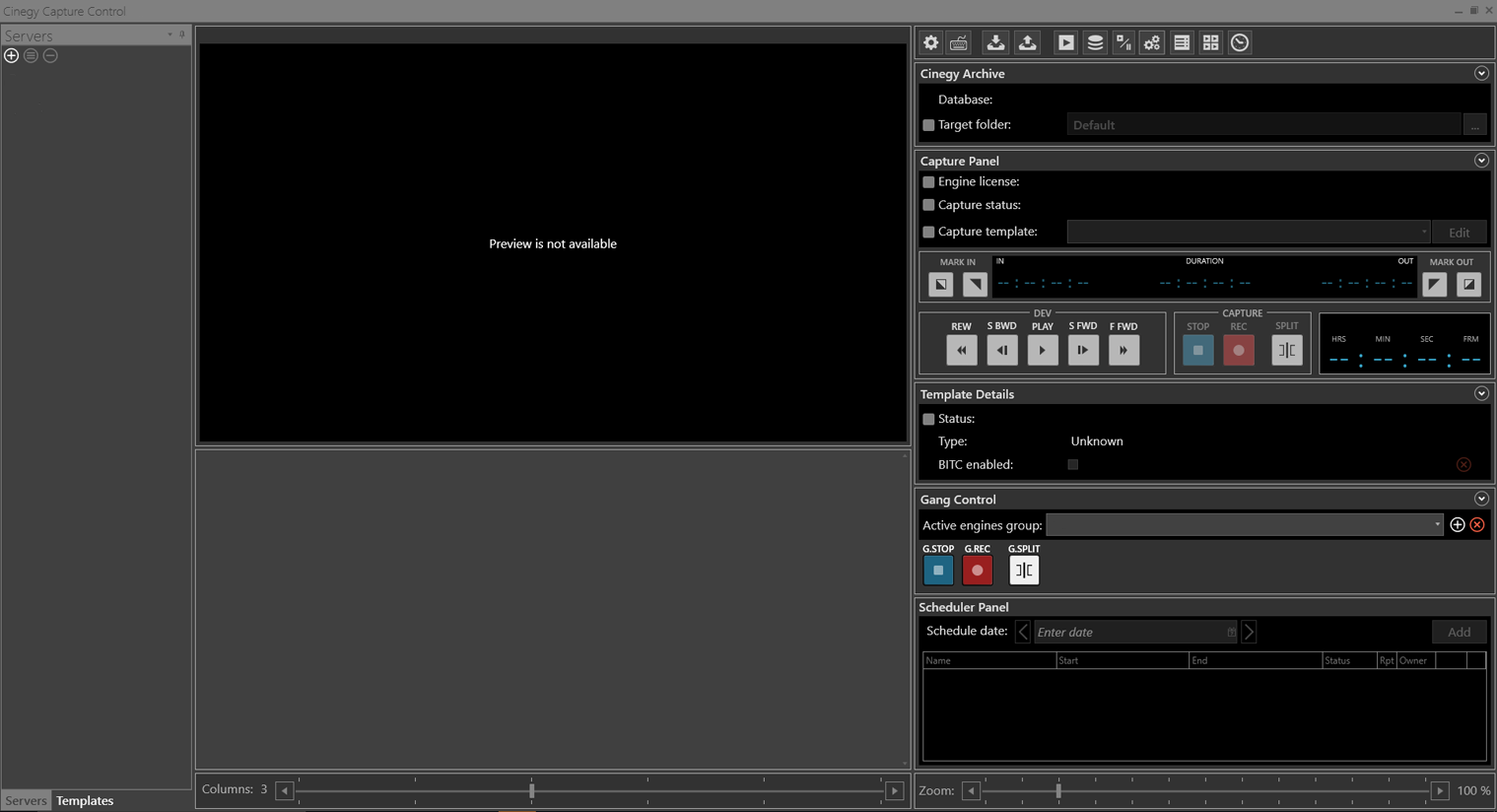 Cinegy_Capture_Client_interface