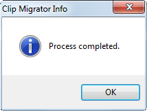 clip migrator_process completed