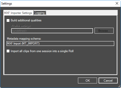 MXF_import_settings