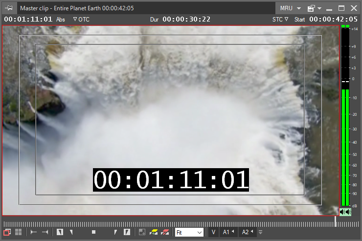 on-screen timecode_in_viewer