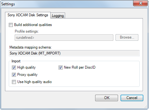 Sony_XDCAM_settings