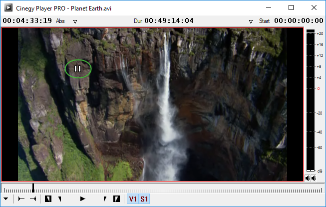 Paused playback